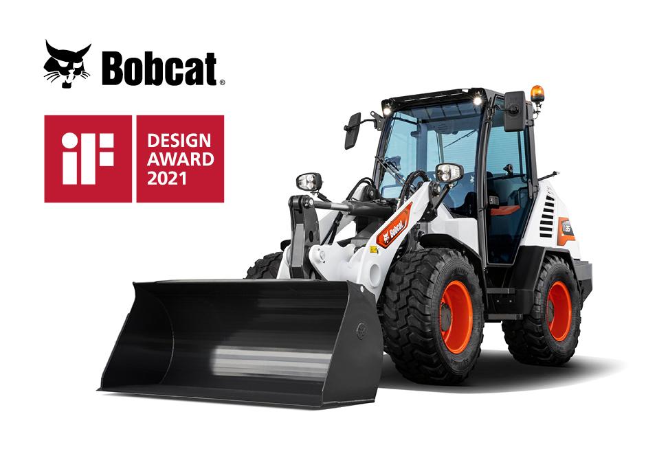 Nieuwe compacte wiellader van Bobcat wint belangrijke designprijs
